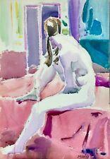 Joseph B. O'Sickey (American 1918-2013) Modernist, Cleveland Artist, Female Nude