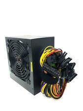 650 Watt 24/20-pin 4/8-pin ATX Computer System PC Power Supply with SATA PCIe