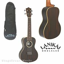 LANIKAI ZIRICOTE SERIES *new model* CONCERT UKULELE IN SATIN FINISH WITH BAG ZRC