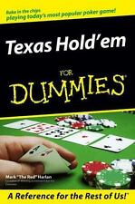 Texas Hold'em for Dummies (Paperback or Softback)
