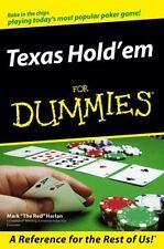 `Harlan, Mark`-Texas Hold`Em For Dummies  (UK IMPORT)  BOOK NEW