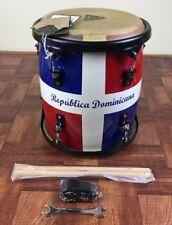 Tycoon Percussion 11 Inch Tambora - Dominican Republic Flag Finish