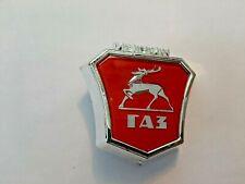 Volga GAZ GAZelle Grill Emblem Badge Ornament 24108401384 aftermarket quality