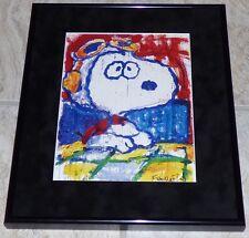 Tom Everhart Peanuts Snoopy Wwi Flying Ace El NiÑO For Tea Framed Print Schulz