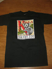 Toledo Zoo youth large T shirt Koala tee Zoological Gardens marsupial Ohio kids