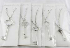 5 Pcs Mix lots of Large Key Pendant Necklaces #20014