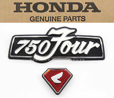 New Genuine Honda Badges Left Side Cover Emblem Set 1973-1976 CB750 K OEM #J71
