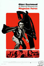 Magnum force Clint Eastwood vintage movie poster print #22