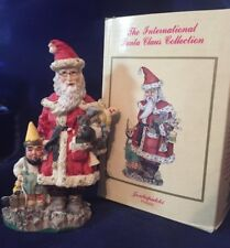 "93 International Santa Claus Collection Finland Joulupukki 4-3/4"" w/Box Dillards"