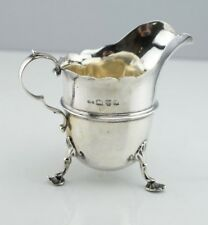 Antique Chester England Stokes & Ireland Sterling Silver Cream Sauce Boat