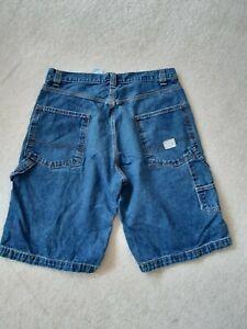 """Vintage Mens Levi's Blue Jeans Shorts 34"""" Waist Bermuda"""