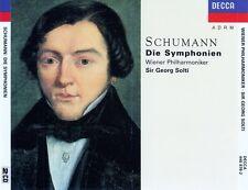 SCHUMANN : DIE SYMPHONIEN - WIENER PHILHARMONIKER, SIR GEORG SOLTI / 2 CD-SET
