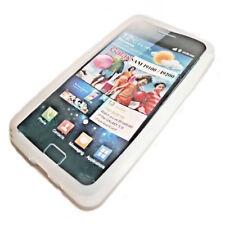 Silikon TPU Handy Cover Case Hülle Schale in Weiß für Samsung i9100 Galaxy S2