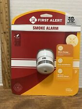 First Alert Battery-Operated 3-Volt Photoelectric Sensor Smoke Detector
