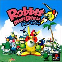 PS1 ROBBIT MON DIEU Japan PS PlayStation 1 F/S