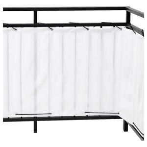 NEW IKEA Balcony Privacy Screen DYNING Wind & Sun Shield White