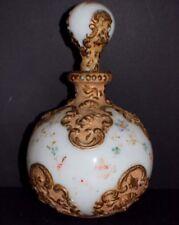 1870's Victorian milk glass decanter bottle shape object