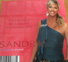 PROMOTIONAL CD EUROVISION ESTONIA 2006 SANDRA THROUGH MY WINDOW