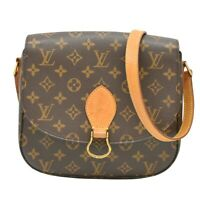 Louis Vuitton Saint Cloud GM M51242 Monogram Shoulder Crossbody Bag Pochette LV