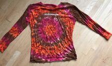 Volkswagen Retro Tye Dye Daisy T-Shirt Vw Big M V Sports Cotton Xl Large