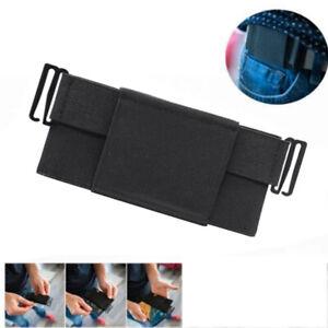 Invisible Elastic Waist Bag Minimalist Ultrathin Opening Sports Running Card Bag