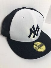 """New York Yankees New Era Diamond Cut 59FIFTY Fitted Hat ON-FIELD CAP Size 7 1/4"""""""