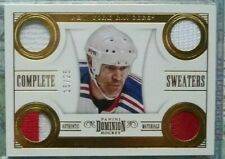 Mark Messier 2013-14 Panini Dominion Complete Sweaters Prime 15/25 NY Rangers