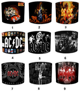 AC DC Highway To Hell Lampshades, Ideal to Match ac dc Cushions & Covers