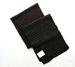 Calvin Klein Scarf Men's CK Ombre Striped Jersey Muffler Winter Neck Scarf, $55