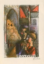 Ex libris exlibris by KUTRA RADOSLAV (*1925) Czech/Switzerland