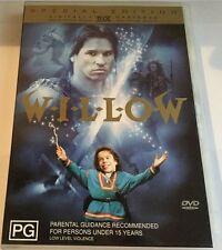 WILLOW dvd RARE warrick davis REGION 4 george lucas OOP special edition