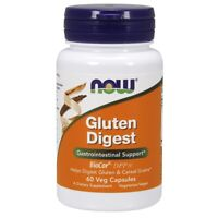 NOW Foods Gluten Digest 60 Veg Capsules FREE SHIPPING. MADE IN USA