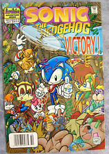 SONIC THE HEDGEHOG #51 VHTF NEWSSTAND Variant Excellent Copy! Archie Adventure