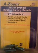 Pachmayr, A-Zoom Action Proving Rimfire Dummy Rounds, 17 Mach 2