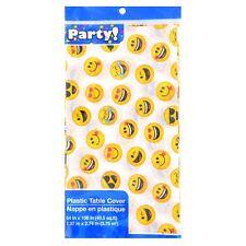 Emoji Table Cover, Birthday Scouts, Sleep Overs, Bake Sale School Dance 54x108