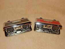 Compact Pocket Binoculars Opera Glasses 25x Foldaway Lens - Lot of 2 - Voltax