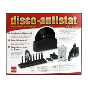KNOSTI DISCO ANTISTAT RECORD CLEANING MACHINE   FREE STYLUS CLEANING PUTTY