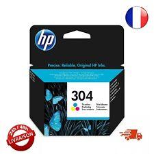 CARTOUCHE D'ENCRE HP 304 trois couleurs authentique imprimante deskjet N9K05AE