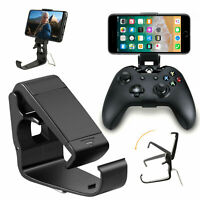 Universal Phone Bracket Game Controller Clips Holder Mount for Xbox One Handle
