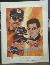 ROBERT TANENBAUM LEGENDS OF DAYTONA NASCAR Lithograph 765 /2001