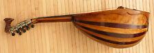 Mandoline Napolitaine Signé CASIMIR LALLIET daté 1897 instrument ancien mandolin