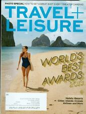 2013 Travel & Leisure Magazine: World's Best Awards/Top Cameras/Best Island