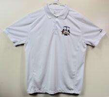 Nike Men's Golf Polo Shirt Size Large White LUMINA CUP WRIGHTSVILLE