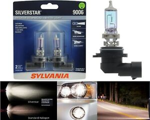 Sylvania Silverstar 9006 HB4 55W Two Bulbs Head Light Replacement Low Beam Lamp