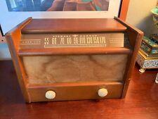 WORKING Antique Stewart Warner Broadcast Radio 1947 Finds Radio Stations RARE