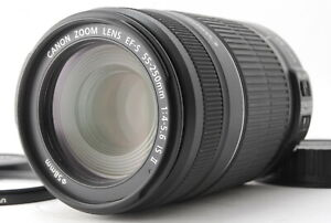 MINT/ CANON EF-S 55-250mm F4-5.6 IS STM Lens Film Camera from Japan #0857