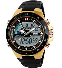Hot Sale Analogue & Digital 5ATM Date Chronograph Mens Women Luxury SKMEI Watch