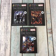The Ultimate Graphic Novels Collection Marvel - Time Runs Out Series Part 1 - 3