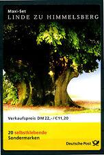 Bund - selbstklebende Einzelmarken / EM ** aus Markenheft / MH bis Mi.-Nr. 2499