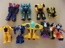 LOT 9 Transformers Hasbro Tony Playskool Bumblebee Heroes Rescue Bots Car blue